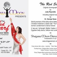 Shagara Moon Red Scarf leaflet