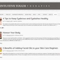 Intuitive Touch blogs