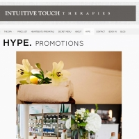 Intuitive Touch promotions
